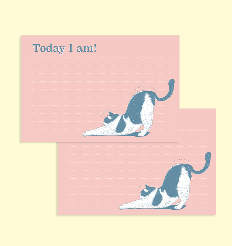 메모지 - Today I am!